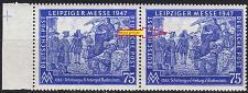 Buy GERMANY Alliiert Gemeinschaft [1947] MiNr 0966 II ( **/mnh ) [01] Plattenfehler, 2er