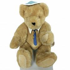 "Buy NWT VTG The Vermont Teddy Bear Company Jewish Jointed Plush Stuffed Animal 17.5"""