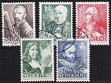 Buy NIEDERLANDE NETHERLANDS [1940] MiNr 0351-55 ( O/used )