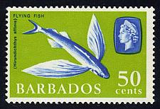 Buy Barbados #278a Flyingfish; Unused (2Stars) |BAR0278a-01