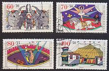 Buy GERMANY BUND [1989] MiNr 1411-14 ( O/used ) Zirkus