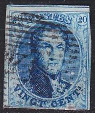 Buy BELGIEN BELGIUM [1858] MiNr 0008 II ( O/used ) [03]