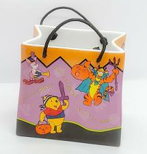 "Buy Disney's Ceramic Replica of a ""Welcomes 2000"" Winnie The Pooh Halloween Bag"