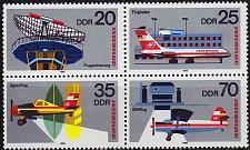 Buy GERMANY DDR [1980] MiNr 2516-09 4er ( **/mnh ) Flugzeuge