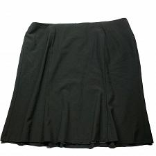 Buy NWT Talbots Womens A Line Pleated Skirt Size 22W Solid Black Lined Back Zip