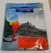 Buy BACKPACKER'S PANTRY MEXICAN-STYLE RICE WITH BEEF 6.5 OZ 2 SERVINGS SEALED