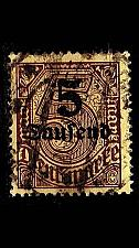 Buy GERMANY REICH Dienst [1923] MiNr 0089 ( O/used )