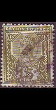 Buy CEYLON SRI LANKA [1886] MiNr 0096 ( O/used )