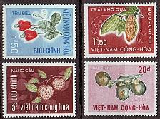Buy VIETNAM SÜD SOUTH [1967] MiNr 0378-81 ( **/mnh ) Pflanzen