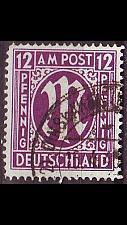 Buy GERMANY Alliiert AmBri [1945] MiNr 0015 F ( O/used )
