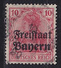 Buy GERMANY Bayern Bavaria [1919] MiNr 0140 ( O/used )