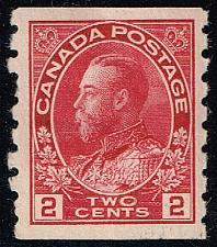 Buy Canada #127 King George V; Unused (2Stars) |CAN0127-01XRP