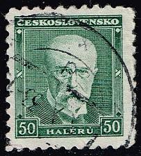 Buy Czechoslovakia #168 President Masaryk; Used (0.25) (3Stars) |CZE0168-04XRS