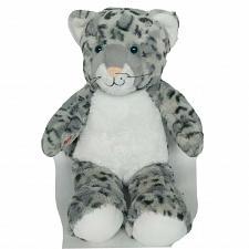 "Buy Build A Bear Gray White Snow Leopard BAB Plush Stuffed Toy 2015 16.5"""