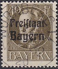 Buy GERMANY Bayern Bavaria [1919] MiNr 0160 A ( O/used ) [01]
