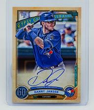 Buy MLB DANNY JANSEN TORONTO BLUE JAYS AUTOGRAPHED 2019 TOPPS GYPSY QUEEN ROOKIE MNT