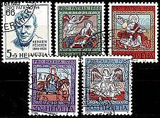 Buy SCHWEIZ SWITZERLAND [1966] MiNr 0836-40 ( O/used ) Pro Patria