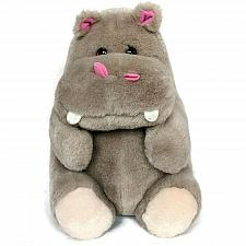 Buy Gray Hippo Hippopotamus Plush Zoo Animal Stuffed Animal 10.5""