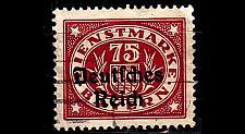 Buy GERMANY REICH Dienst [1920] MiNr 0043 ( O/used )