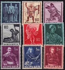 Buy SCHWEIZ SWITZERLAND [1941] MiNr 0377-85 ( **/mnh )