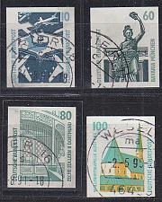 Buy GERMANY BUND [1991] MiNr 1531-34 ( O/used ) [01] Bauwerke