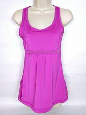 Buy Lucy Women's Racerback Tank Top XS Solid Pink Athletic Sleeveless