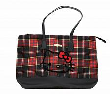 Buy New Hello Kitty Tote Bag & Pouch Tartan Free Shipping