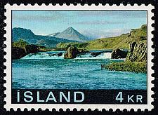 Buy Iceland #413 Laxfoss; MNH (0.35) (5Stars) |ICE0413-01XRS