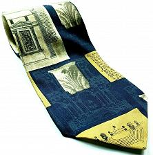 Buy Ancient Buildings Greek Roman Italian Columns Architecture Novelty Necktie