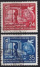 Buy GERMANY DDR [1952] MiNr 0315-16 ( OO/used )