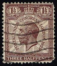 Buy Great Britain #207 King George V; Used (0Stars) |GBR0207-02XVA