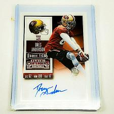 Buy NFL DRES ANDERSON SAN FRANCISCO 49ERS AUTOGRAPHED 2015 PANINI ROOKIE TICKET MINT