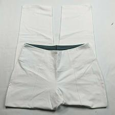 Buy Women with Control Petite Tummy Control Nina Waist Pintuck Pants Size MP White