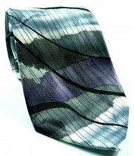 Buy J Garcia Malachite Valley Collection Fifty Two Gray Purple White Abstract