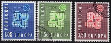 Buy PORTUGAL [1961] MiNr 0907-09 ( O/used ) CEPT