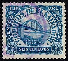 Buy El Salvador #499 Bridge over Lempa River; Used (3Stars) |ELS0499-08