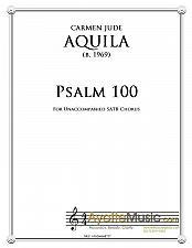 Buy Aquila - Psalm 100 for Unaccompanied SATB Choir