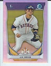Buy J.D. Davis 2014 Bowman Chrome Draft Prospect Refractor