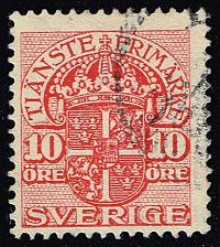 Buy Sweden #O48 Official Stamp; Used (0.25) (2Stars) |SVEO48-01XRS