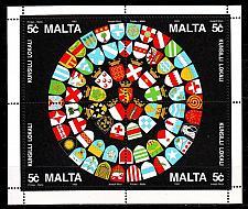 Buy MALTA [1993] MiNr 0920-23 Block 13 ( **/mnh ) Wappen