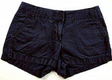 Buy J Crew Women's Broken In Chino Shorts Size 4 Solid Blue 4 Pockets
