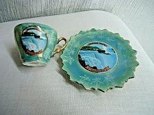 Buy Vintage Niagara Falls Canada Souvenir Demitasse Tea Cup & Saucer Gold Trim Japan