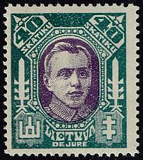 Buy Lithuania #116A Antanas Juozapavicius; Unused (3Stars) |LIT0116A-01XRP