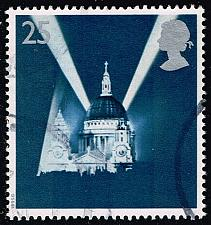 Buy Great Britain #1614 St. Paul's Cathedral; Used (0.70) (4Stars) |GBR1614-02XVA