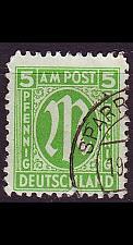Buy GERMANY Alliiert AmBri [1945] MiNr 0019 A ( O/used )