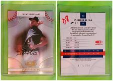 Buy MLB JAIRO HEREDIA NEW YORK YANKEES AUTOGRAPHED 2008 DONRUSS THREADS /999 MINT