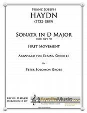 Buy Haydn - Sonata in D Major Hob.XVI:37