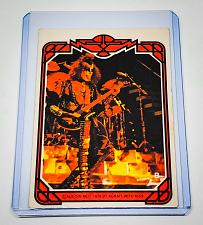 Buy VINTAGE KISS LIVE GENE SIMMONS 1978 AUCOIN ROCK MUSIC COLLECTORS CARD #8 GD/VG