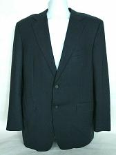 Buy Canali Men's 2 Button Black Wool Suit Coat Size 52R Fully Lined Water Resistant