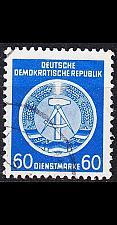 Buy GERMANY DDR [Dienst A] MiNr 0015 I ( OO/used )